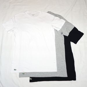 Lacoste Men's 3 Pack Undershirts